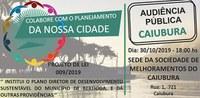 Audiência Pública Plano Diretor de Desenvolvimento Sustentável Caiubura   30/10
