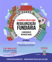 Audiência Pública Regularização Fundiária