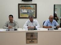 Câmara Municipal de Bertioga realiza sessão ordinária em Boracéia